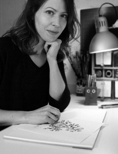 Alvina Garpebring, illustratör och designer