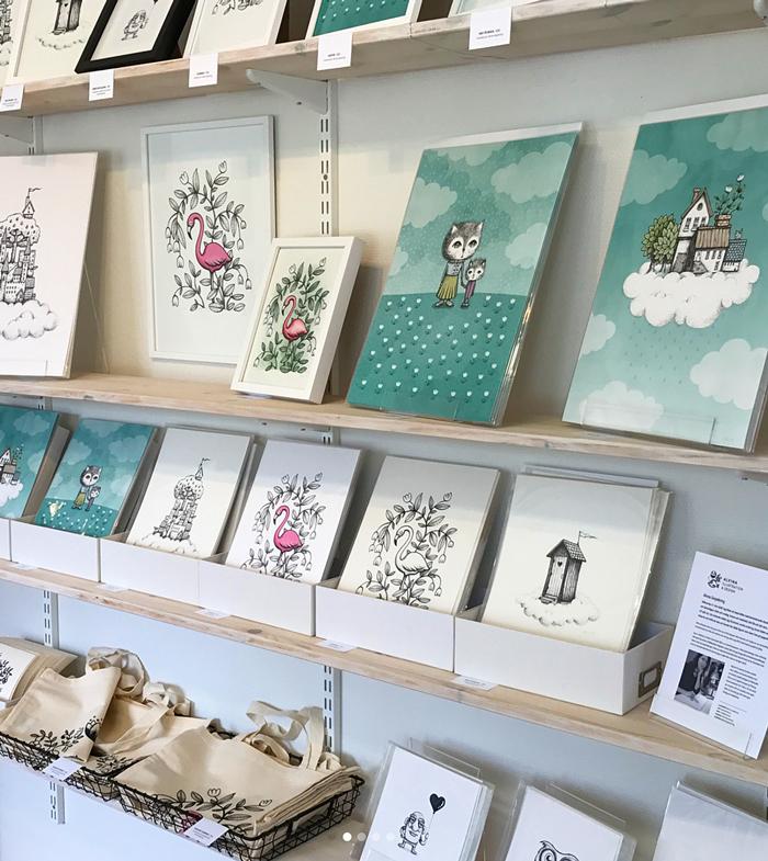 Printshop, posters, nordic design, nordisk design, tavlor, illustratör, återförsäljare